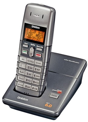 1060 DECT 6.0 Compact Cordless Phone with Caller ID (Interference Free)