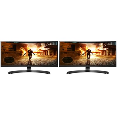 29-Inch 21:9 UltraWide FHD (2560x1080) IPS Curved Dual Monitor w/ FreeSync