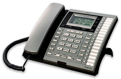4-Line Corded Business Phone with Call Waiting and Caller ID