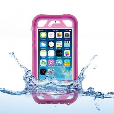 Vault Plus for iPhone 5/5s - Pink (with Fingerprint Reader Access)
