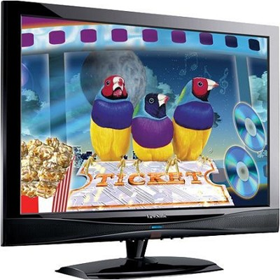 21.6` High Definition LCD TV with QAM tuner