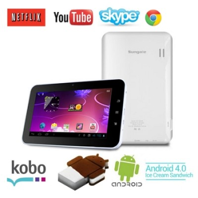 7 inch Android 4.0 Tablet & eReader