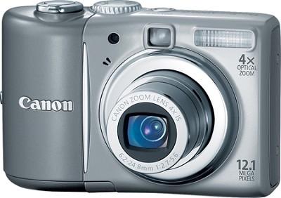 PowerShot A1100 12MP Digital Camera (Gray) - REFURBISHED