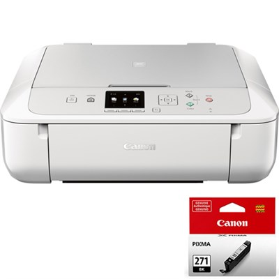 PIXMA MG5720 Wireless Inkjet All-In-One Printer w/ CLI-271 Black Ink Bundle