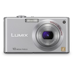 DMC-FX37S - Stylish Compact 10 Megapixel Digital Camera (Silver)