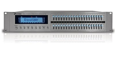 EQ-S7150 Pro Dual 20 Band Graphic Equalizer (Silver)