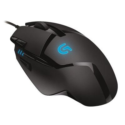 G402 Hyperion Fury FPS Gaming Mouse with High Speed Fusion Engine - 910-004069