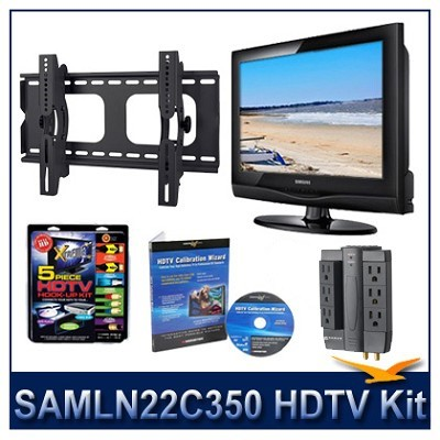 LN22C350 - HDTV + Hook-up Kit + Power Protection + Calibration + Tilt Mount