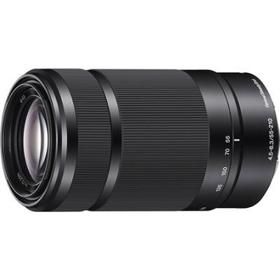 SEL55210 - 55-210mm Zoom E-Mount Lens (Black) Refurbished 1 Year Warranty