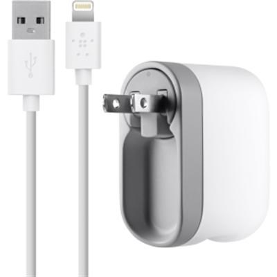 Swivel Charger in White for iPod iPad iPhone - F8J032tt04-WHT