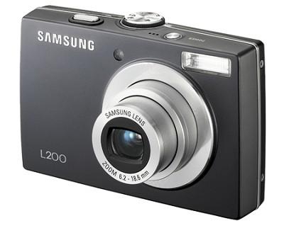 L200 10MP 2.5` LCD Digital Camera (Black)