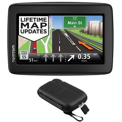 VIA 1515M Automotive GPS Navigation Device + 5` GPS Navigation Case