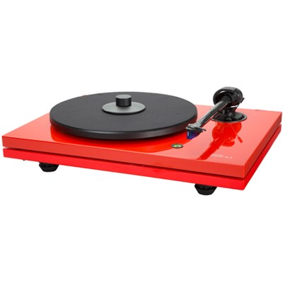 MMF-5.3LE 2-Speed Audiophile Turntable w/ Ortofon 2M Bronze Cartridge - Red