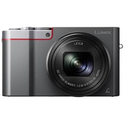 ZS100 LUMIX 4K 20 MP Digital Camera with Wi-Fi - Silver (DMC-ZS100S) - OPEN BOX
