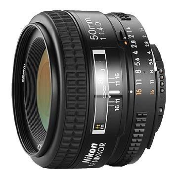 50mm F/1.4D AF Nikkor Lens, With Nikon 5-Year USA Warranty
