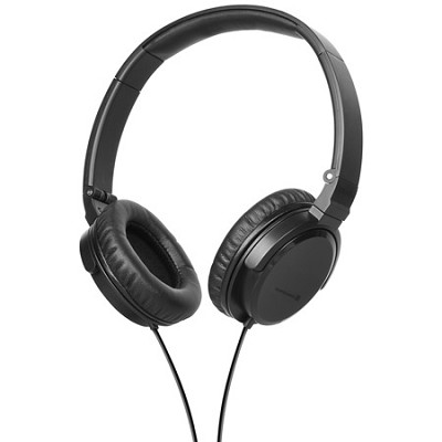 DTX 350p Foldable Headphones (Black)