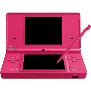 DSi Portable Gaming Console Pink