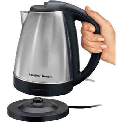 Stainless Steel Electric Cordless Kettle 7.2 CUP (1.7 liters) - 40989