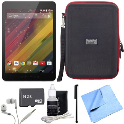 8 G2-1411 16 GB 8-Inch Tablet 16GB Micro SD Memory Card Bundle