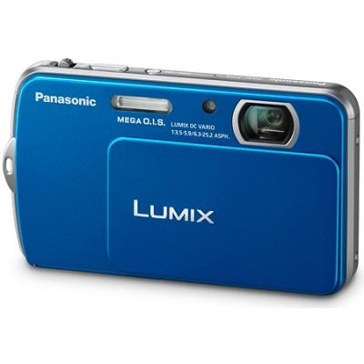 Lumix DMC-FP5 14MP Blue Compact Digital Camera w/ 3.0` Touch Screen
