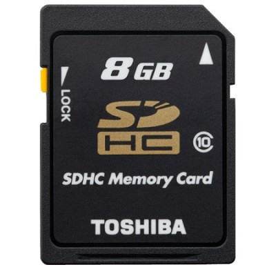 Secure Digital 8GB Class 10 UHS-I Hi Capacity SDHC Memory Card