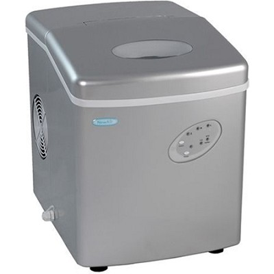 AI-100S Portable Ice Maker (Silver)
