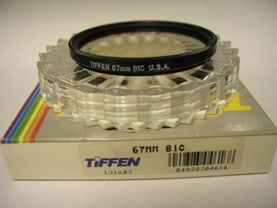67mm 81C Color Conversion Glass Filter