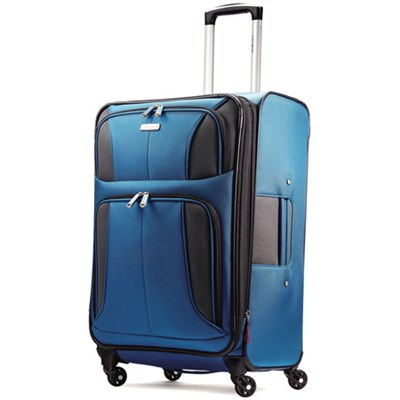 Aspire XLite 25` Expandable Soft-Side Spinner Luggage (Blue Dream) 74570-2709
