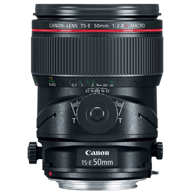 TS-E 50mm f/2.8L Macro Tilt-Shift EF-Mount Full Frame Lens
