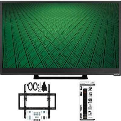 D28hn-D1 - D-Series 28` Class 60Hz 720p LED TV Tilt Wall Mount Bundle