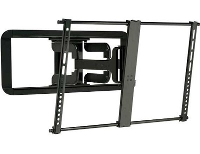 Super Slim Full Motion Wall Mount 37` - 84` TVs (Sits 1.2` From Wall) - VLF320