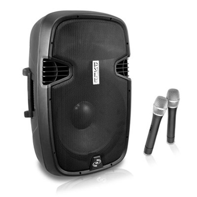 PPHP159WMU 15` 1600-Watt Bluetooth Wireless PA Loudspeaker with Mic