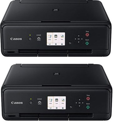 PIXMA TS5020 Wireless Color Photo Printer with Scanner & Copier (Black) 2 Pack