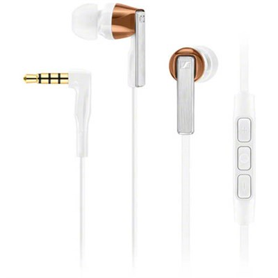 CX 5.00G Earphones with Integrated Mic for Android - White (506248)
