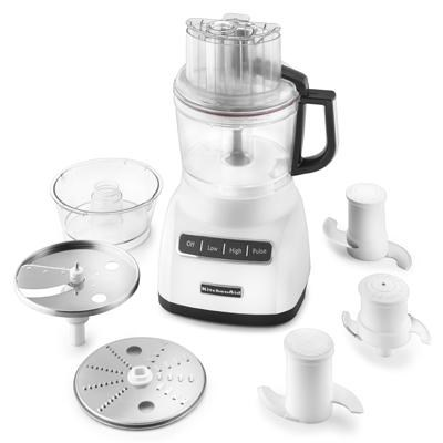 9-Cup Food Processor with Exact Slice System in White - KFP0922WH