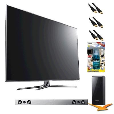UN46D7000 46 inch 1080p 240hz 3D LED HDTV with HW-D551 - Home Theater Bundle
