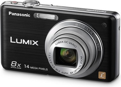 DMC-FH20K LUMIX 14.1 Megapixel Digital Camera (Black)