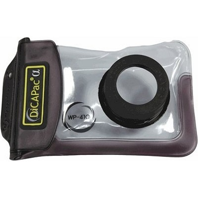 WP410 160x105mm Small Zoom Alfa Waterproof Digital Camera Case with Optical Lens