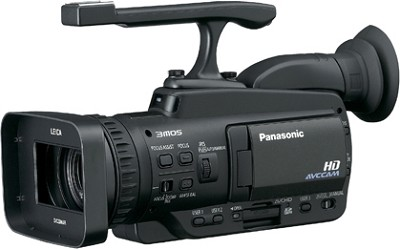 AG-HMC40 3MOS AVCCAM  Flash Memory Pro Camcorder with 12x OIS Zoom