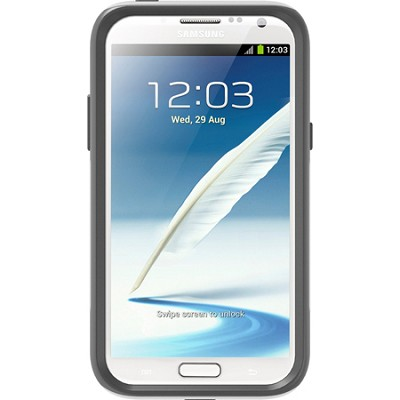 Commuter Series Case for Samsung Galaxy Note 2 - Glacier White/Gray