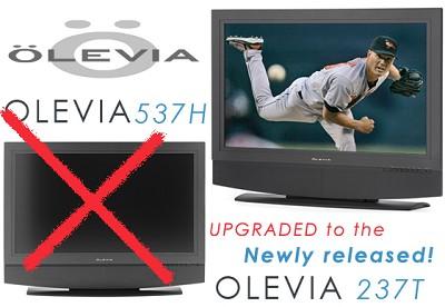237T -37` HD integrated LCD Television (30 watt speaker system)