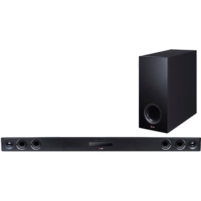 320W 4.1ch Smart Streaming Sound Bar with Wireless Subwoofer - NB3740 - OPEN BOX