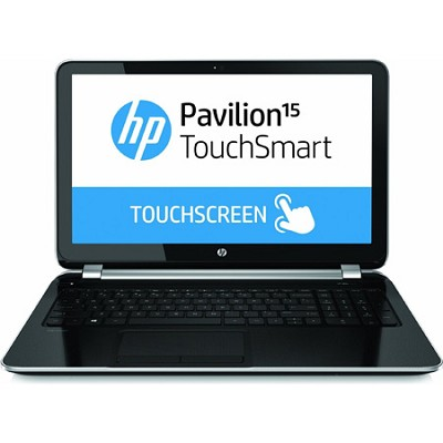 Pavilion TouchSmart 15.6` 15-n020us Notebook - AMD Quad-Core A6-5200 Acc. Proc.
