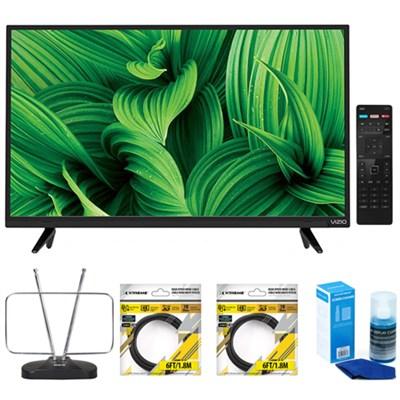 D39hn-E0 D-Series 39` Class Full-Array LED TV with Accessories Bundle
