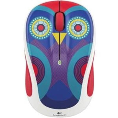 M325c Wireless Mouse in Zigzag Red - 910-004745