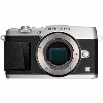 PEN E-P5 16MP Compact System Camera (Silver)(Body Only)