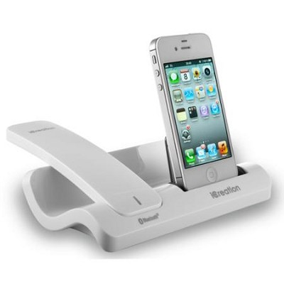i500 iCreation Bluetooth Handset Phone in White CSWi500
