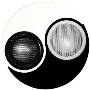 IP-YINYANG YinYang Speaker System -  Black/White