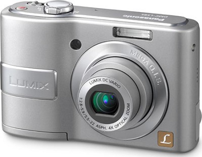 DMC-LS85S - LUMIX 8.1 MP Compact Digital Camera w/ 4x Optical Zoom (Silver)