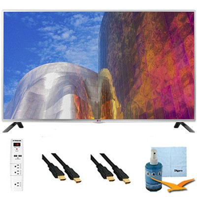 60LB5900 - 60-Inch Full HD 1080p 120hz LED HDTV Plus Hook-Up Bundle
